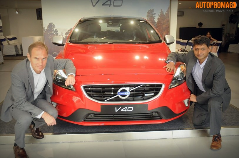 Volvo V40 hatch launched India