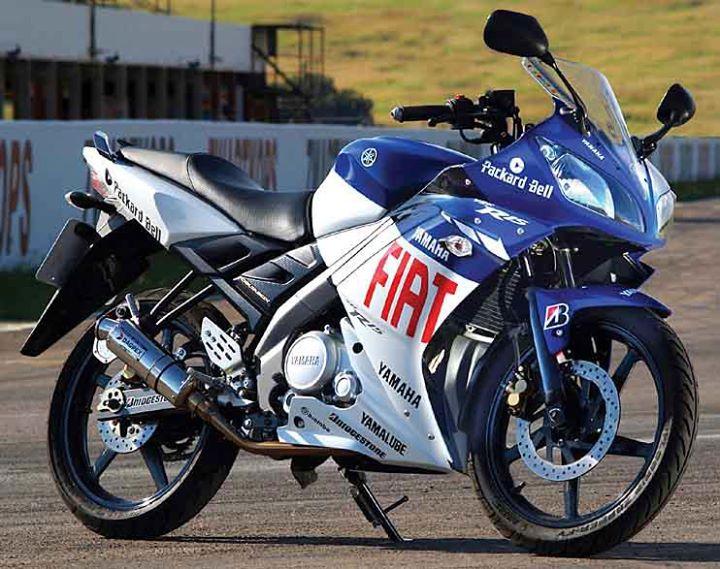 Yamaha R15-S fiat blue edition