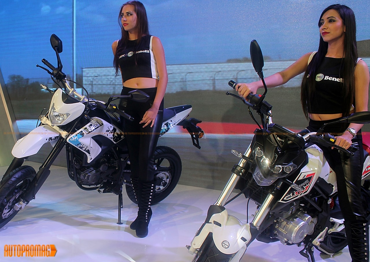 Benelli Naked TNT T-135 and Benelli Motord 250