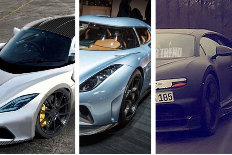 Bugatti Chiron vs Hennessey Venom F5 vs Koenigsegg Regera