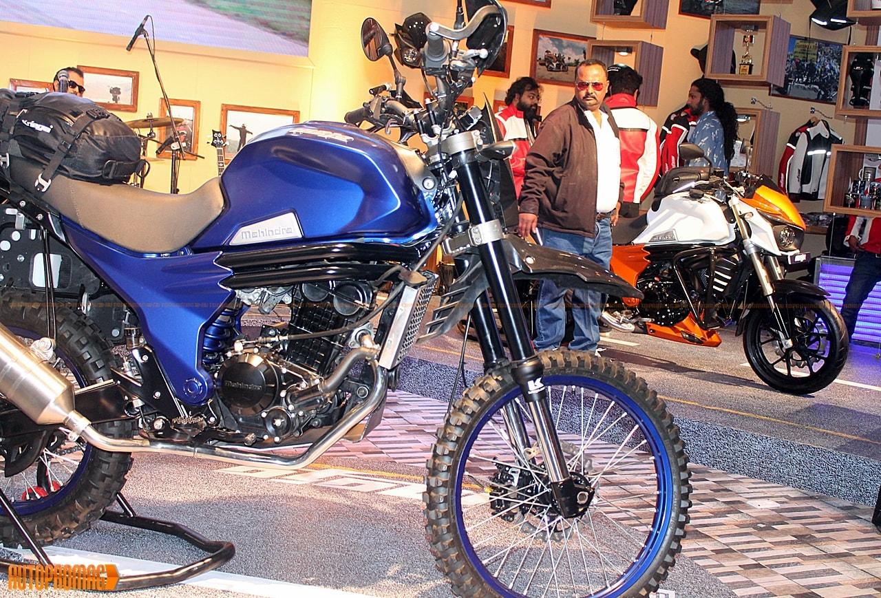 Mahindra mojo adventure new colours