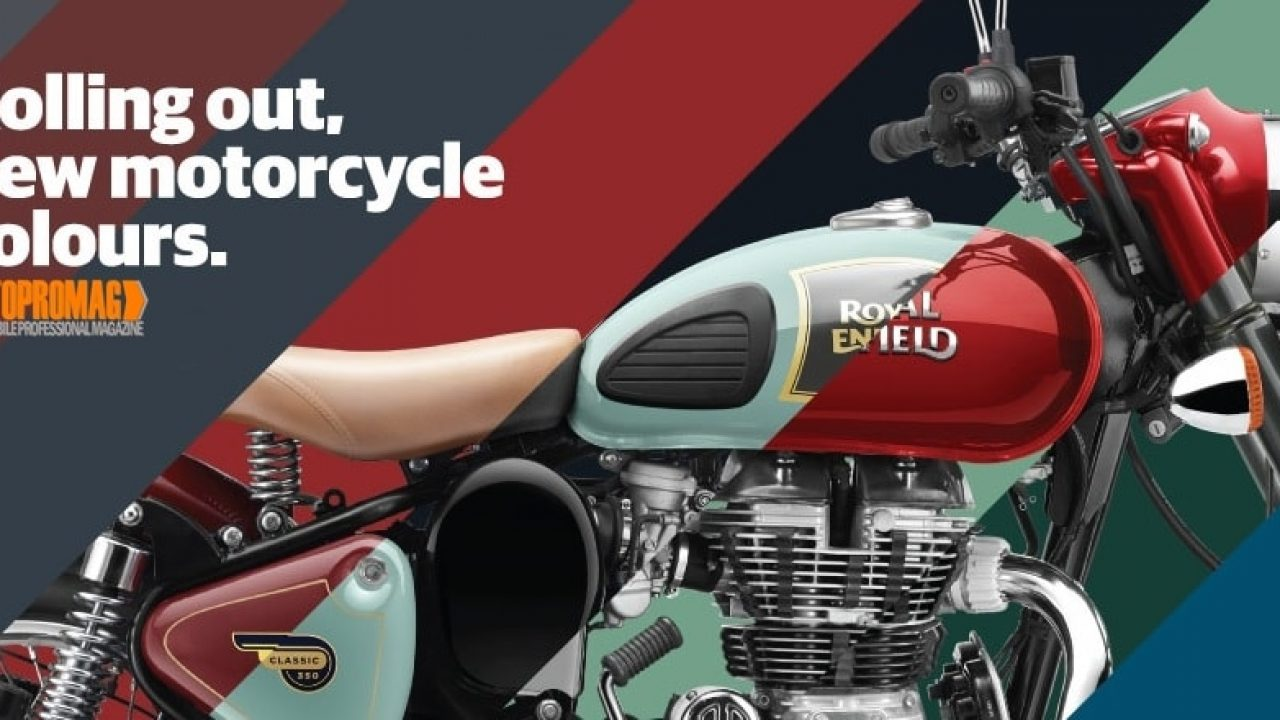 New Royal Enfield Colours From 2016 Includes Gt Green Asphalt Mint Chrome Green Autopromag