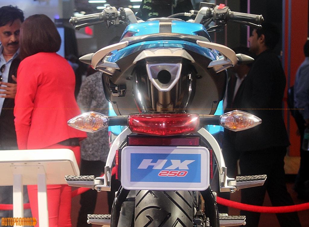 Hero HX250 rear