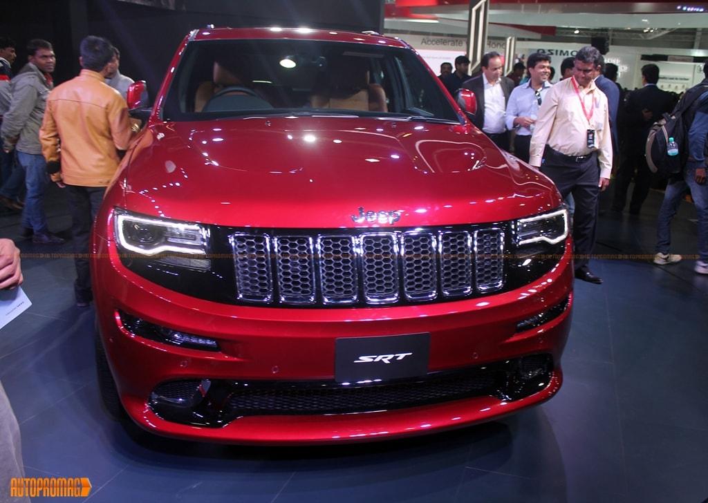 Jeep Grand cherokee SRT Auto Expo India