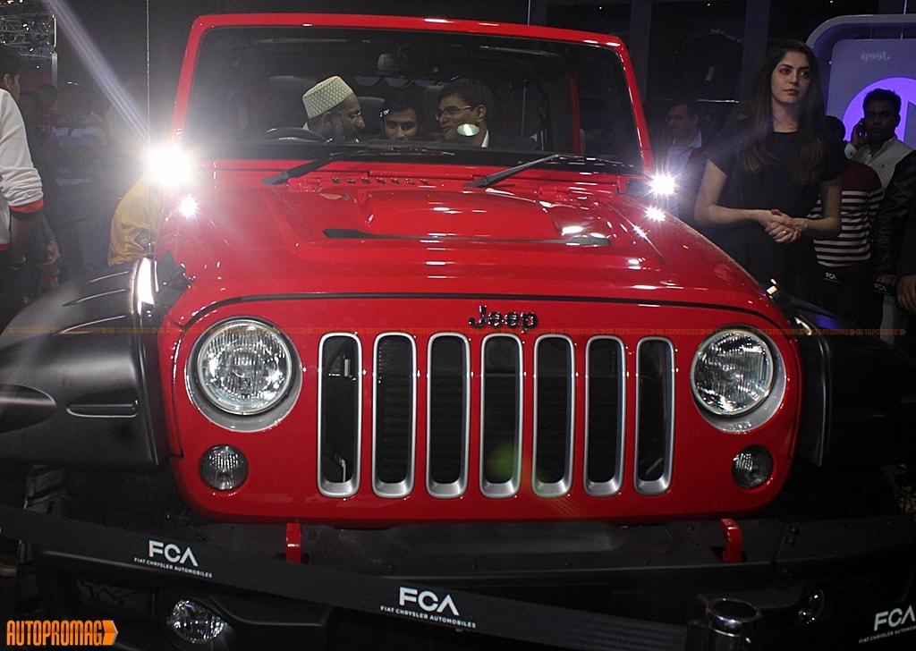 Jeep India Wrangler auto expo
