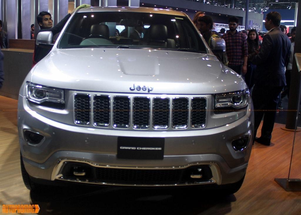 Jeep cherokee auto expo India