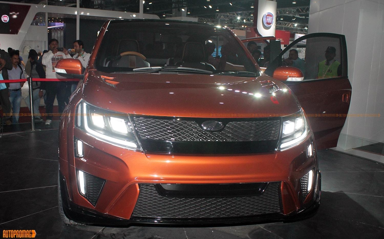 Mahindra XUV Aero front led