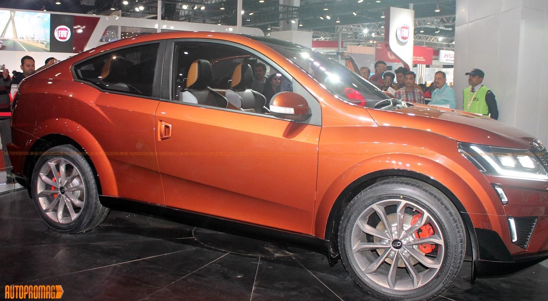 Mahindra XUV aero concept side