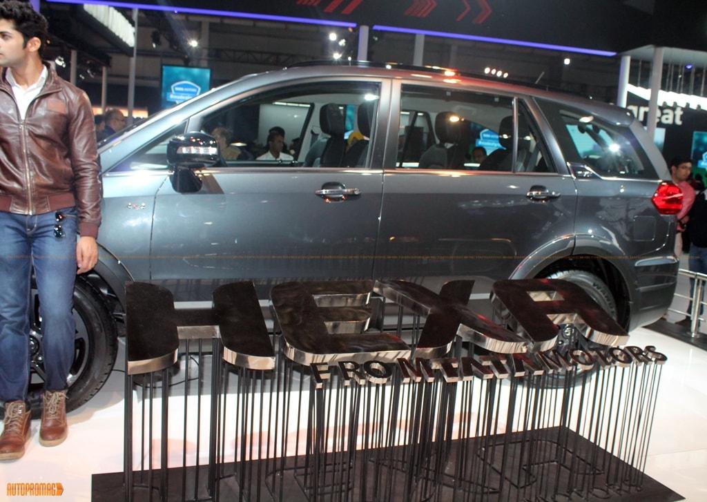 Tata Hexa auto expo 2016