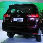 Toyota Innova Crysta red rear