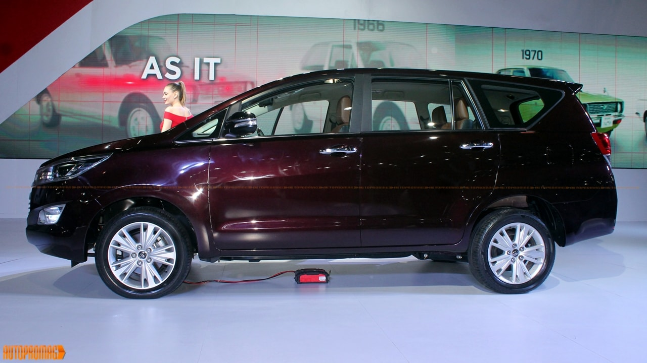 Toyota Innova Crysta Innova 2016 Price In India Launch Interior Images From Expo Autopromag