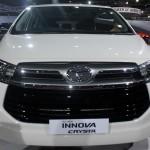 Toyota Innova Crysta white