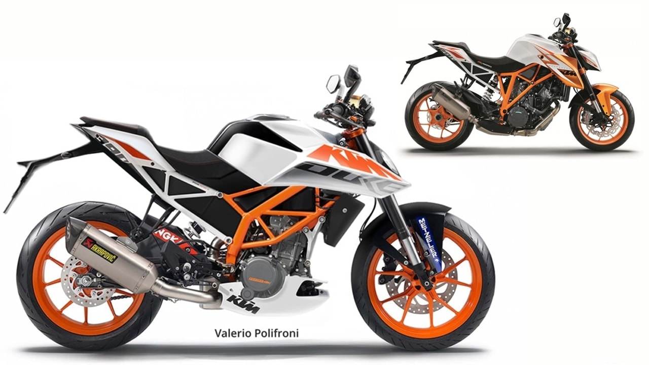 2018 ktm duke 390 black spotted timeline price release. Black Bedroom Furniture Sets. Home Design Ideas