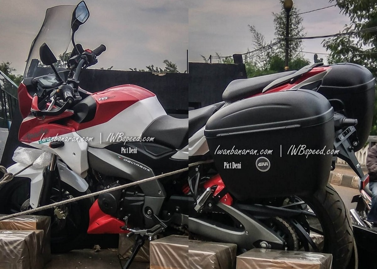 TVS Apache 200 adventure tourer