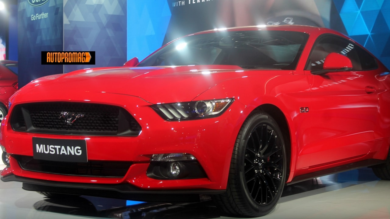 2016 Ford Mustang India