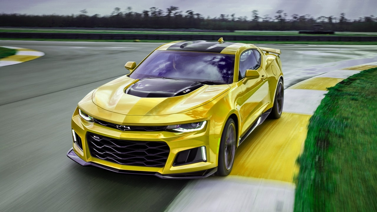 New Bumblebee Camaro 2017 Transformers Last Knight