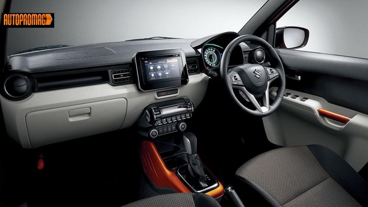 2017 Maruti Suzuki Jimny interior