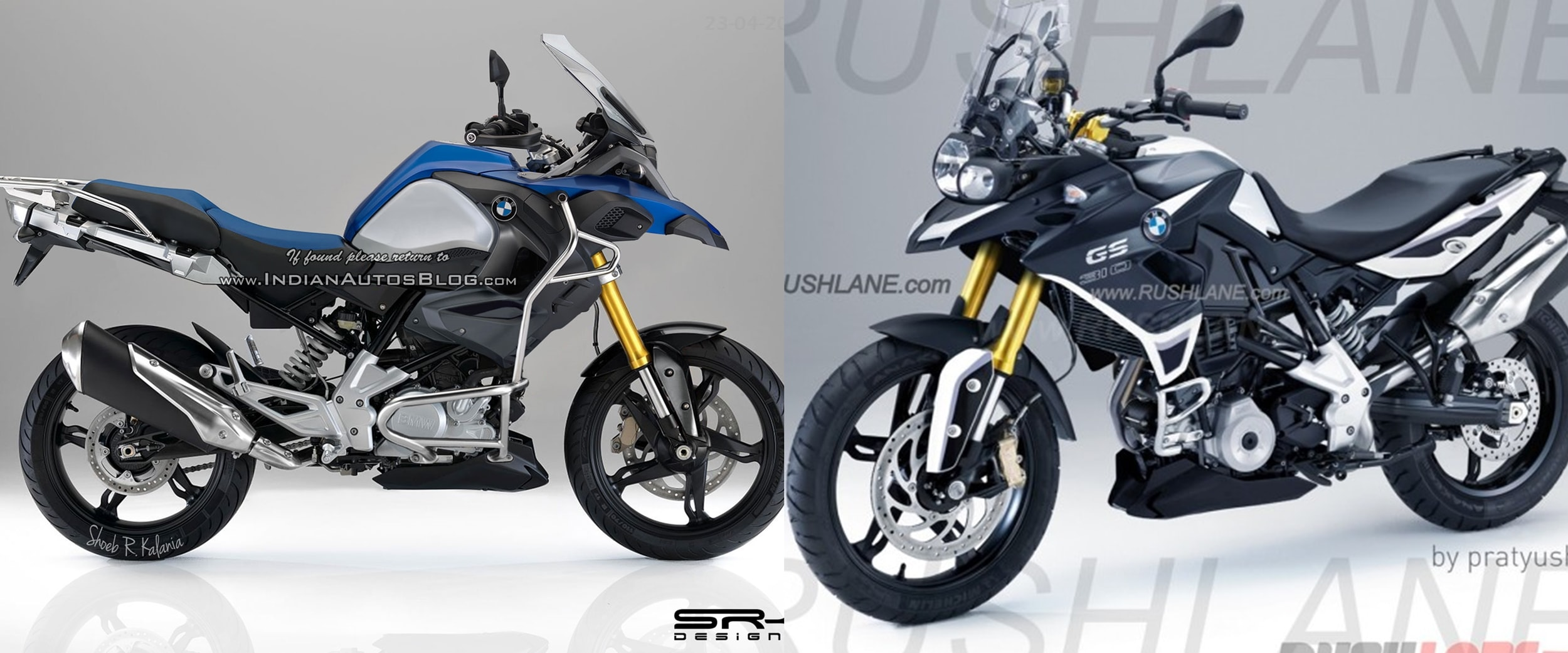 Bmw G310gs Adventure Bmw G310rr Expected In 2017