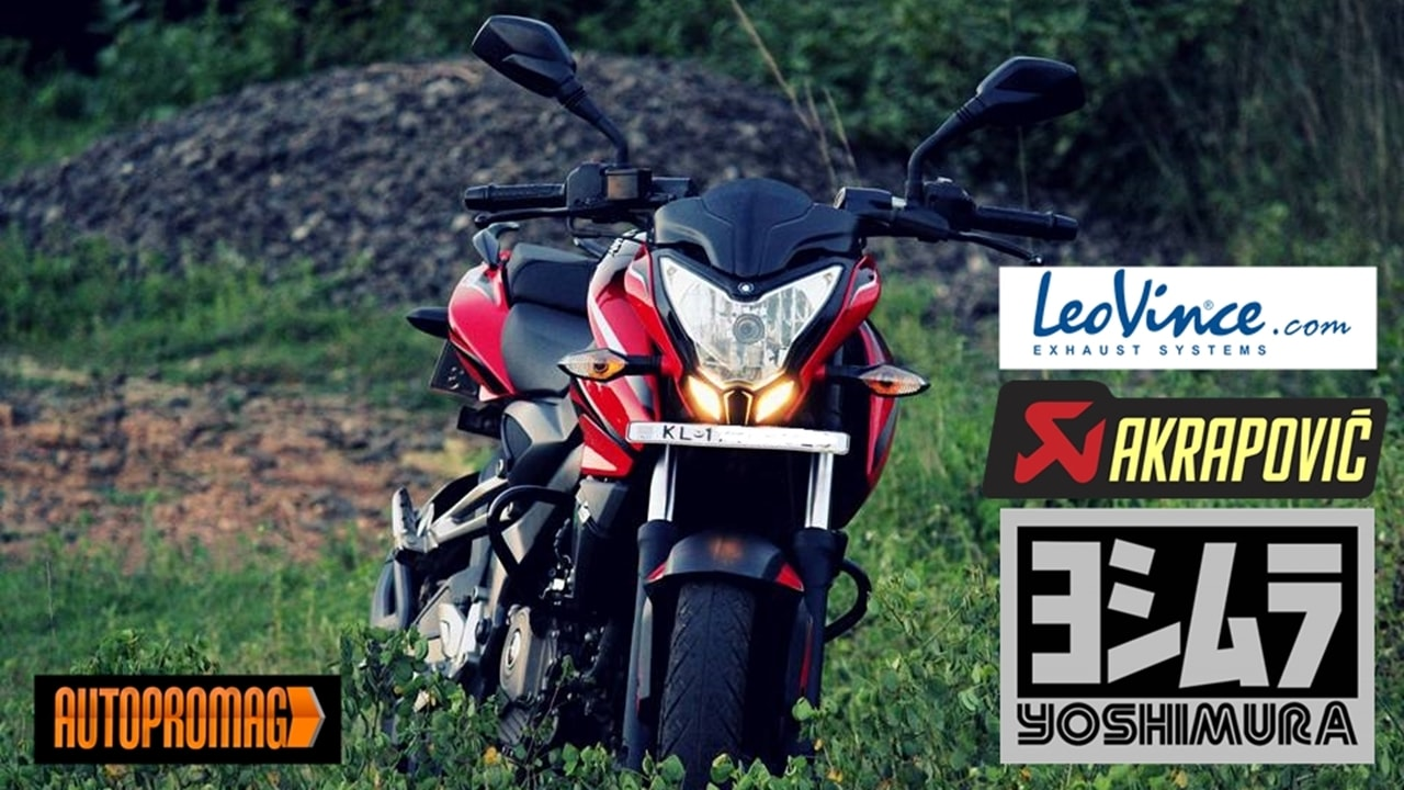 Best exhausts for Bajaj Pulsar RS 200 /AS 200/ NS 200