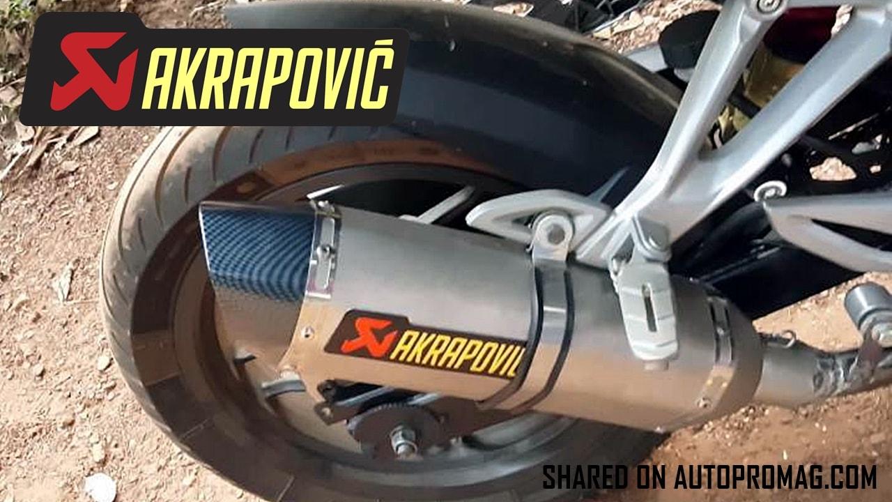 Bajaj Pulsar RS 200 Akrapovic