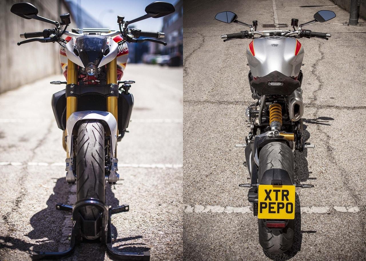 Ducati Monster Siluro India