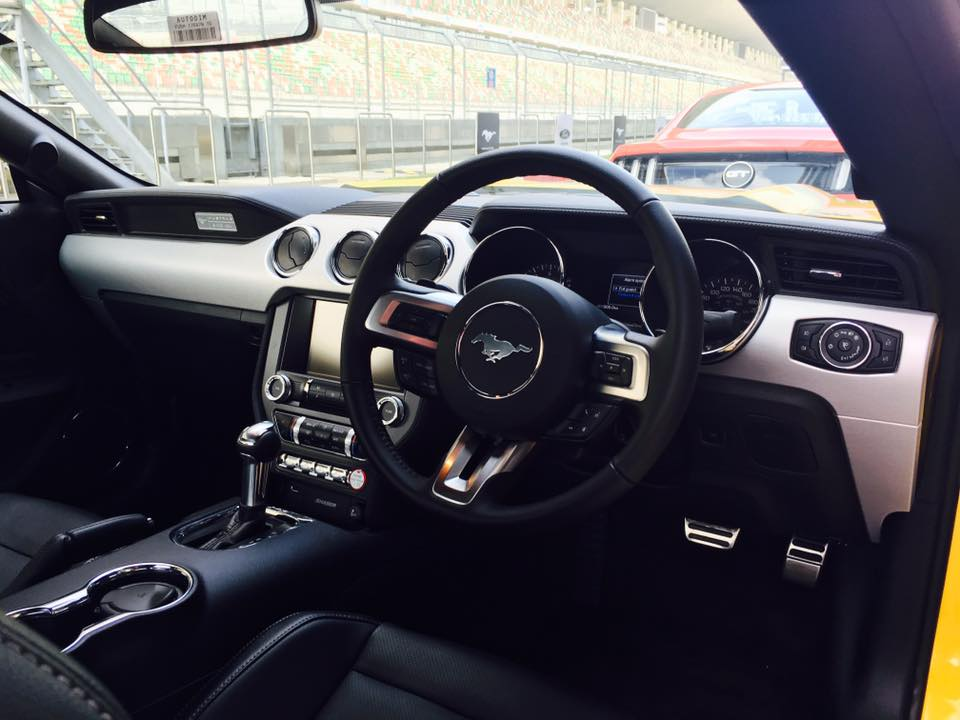 Ford Mustang Interior India