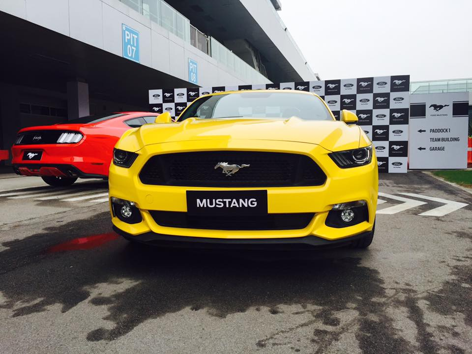 Ford Mustang Yellow india
