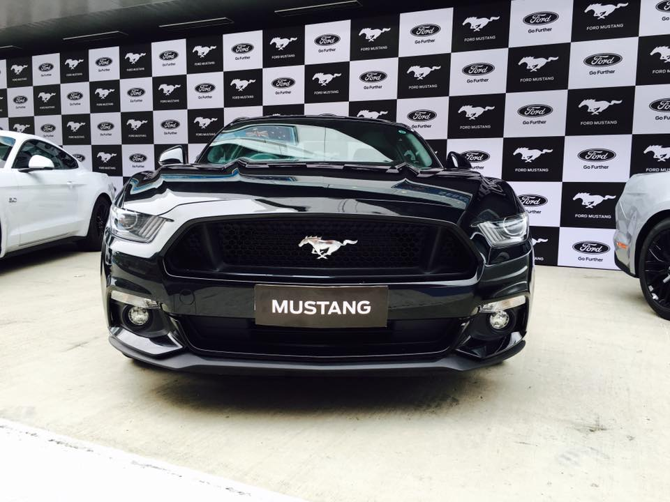 Ford Mustang Black India