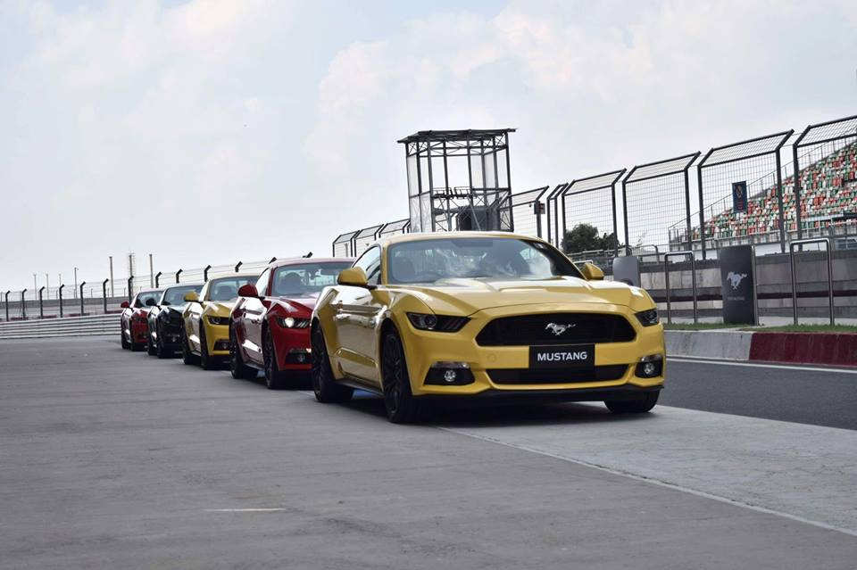 Ford Mustang line up owners