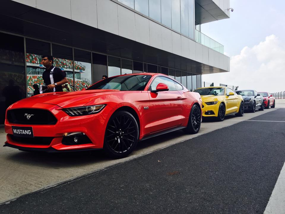 Ford Mustang ride India
