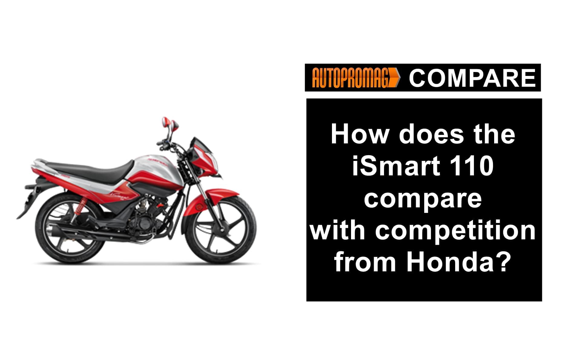 Hero splendor iSmart 110 vs Honda