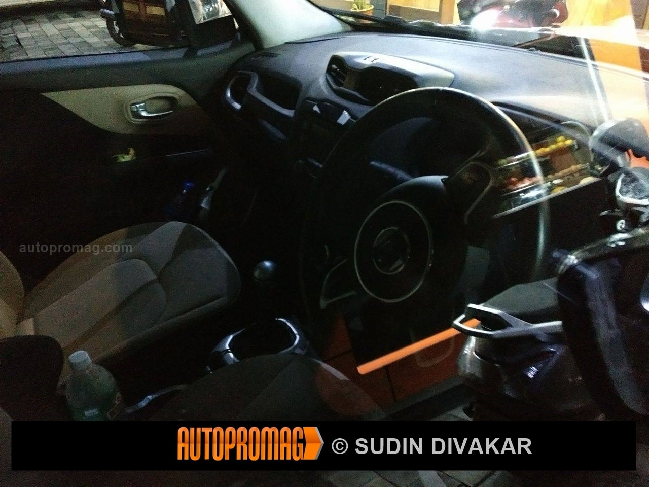 Jeep Renegade Interior spied