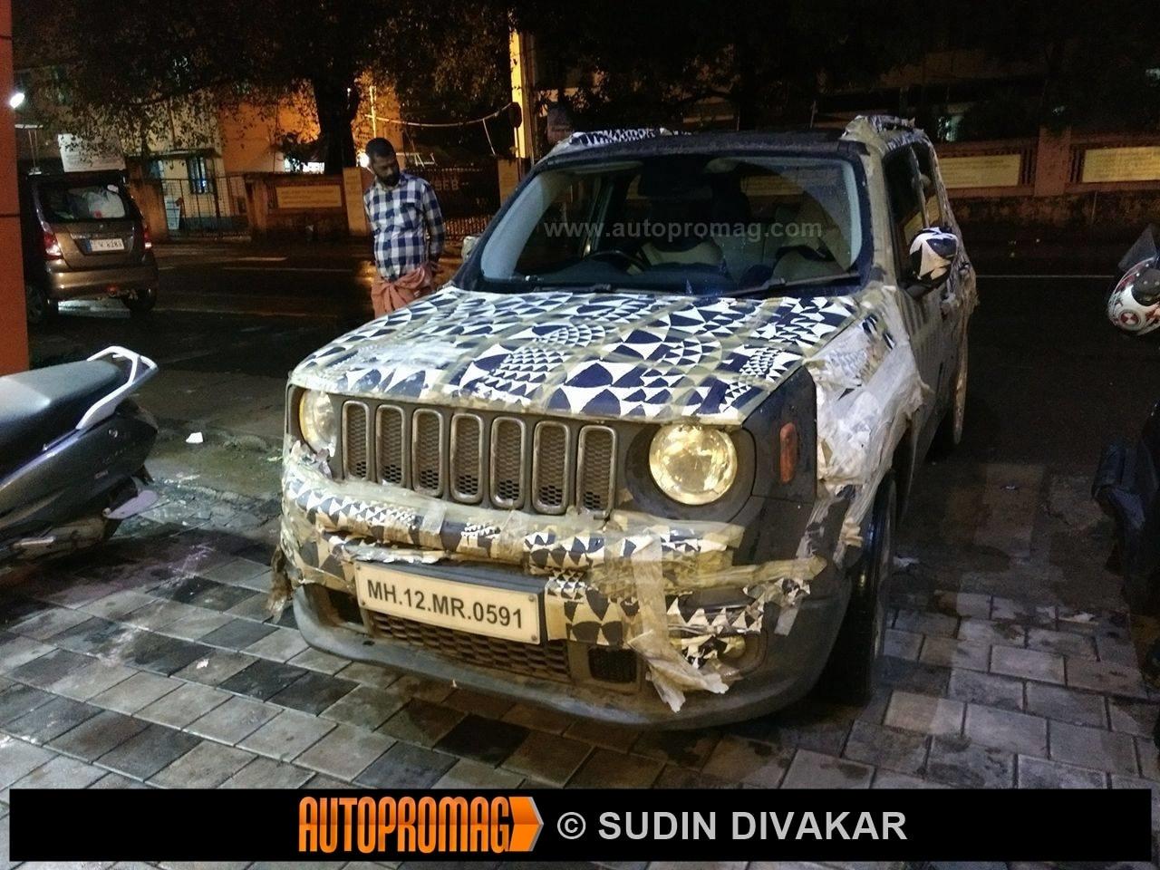 Jeep Renegade Kerala India