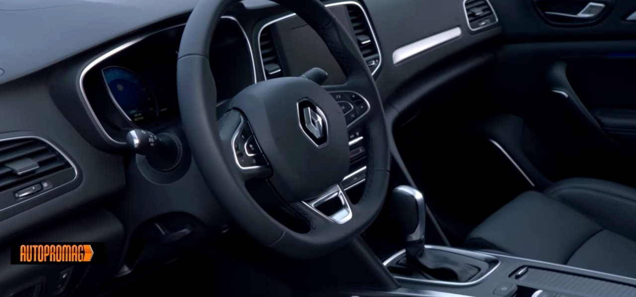 Renault Megane Sedan interior