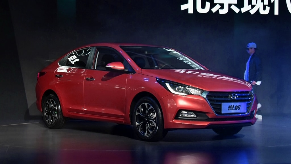 2017 Hyundai Verna red