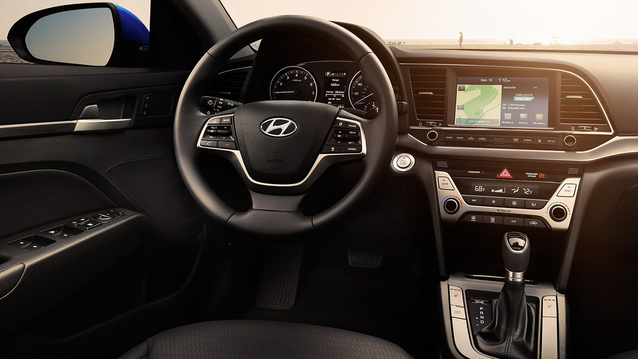 All new Hyundai Elantra Interior