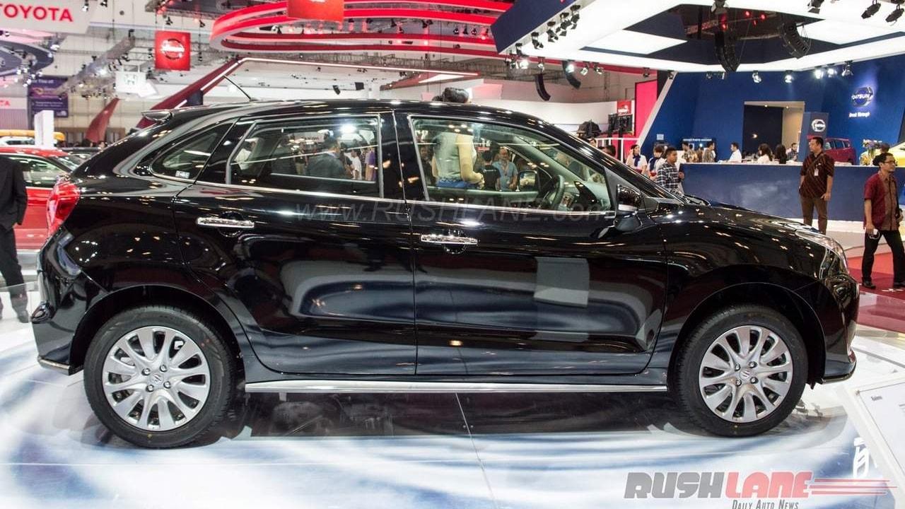 Black Maruti Suzuki Baleno RS