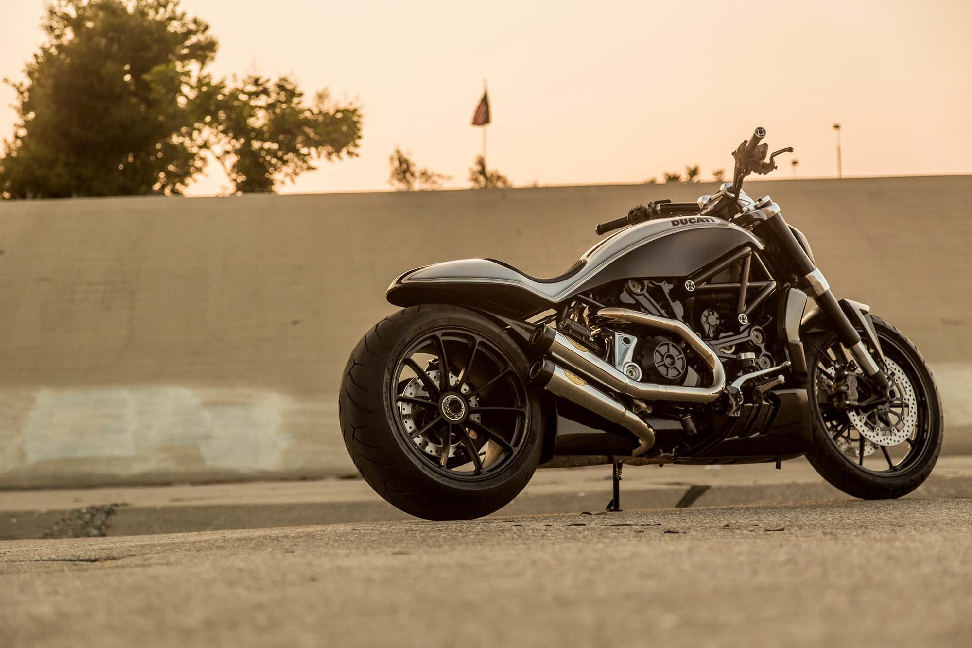 Custom Ducati XDiavel by Roland Sands Design- Modified- APM India