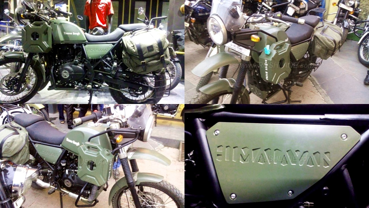 Himalayan green army colour