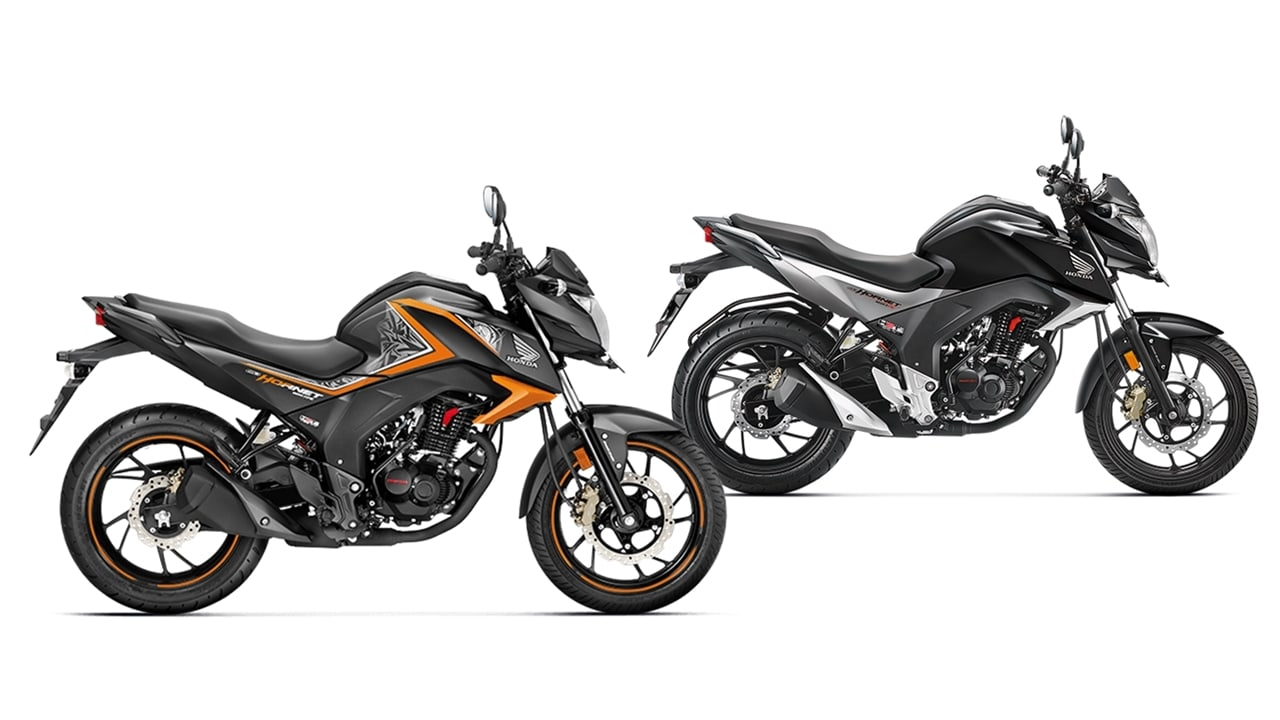 Honda CB Hornet 160R Special Edition vs standard