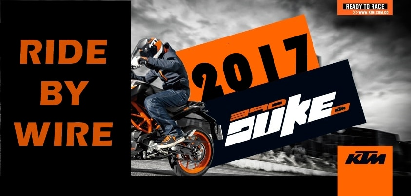 Ride by Wire on new KTM Duke 390 – Explained