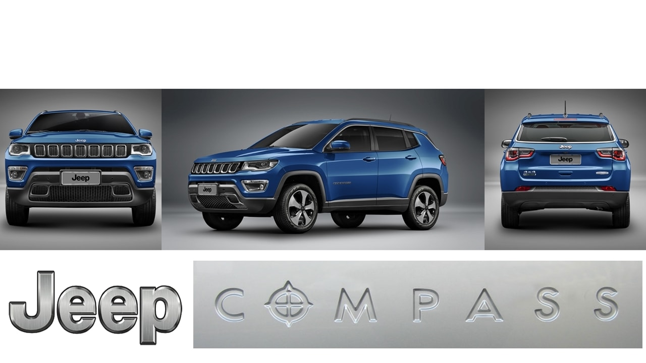 New Jeep compass logo