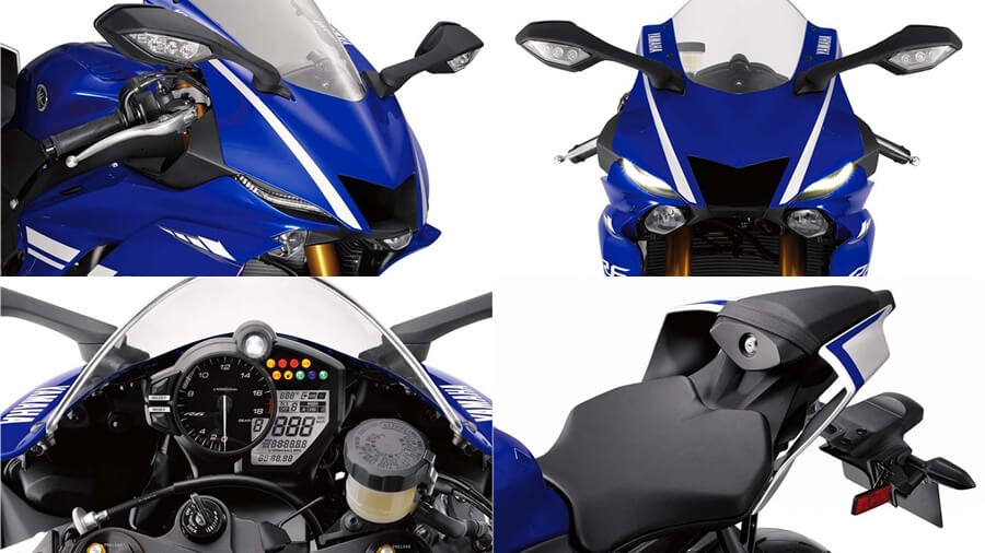 2017 Yamaha R6  new features