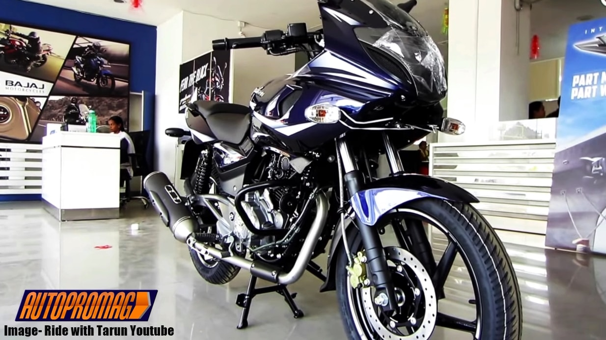 2017 Bajaj Pulsar 220f Spotted With New Colour And