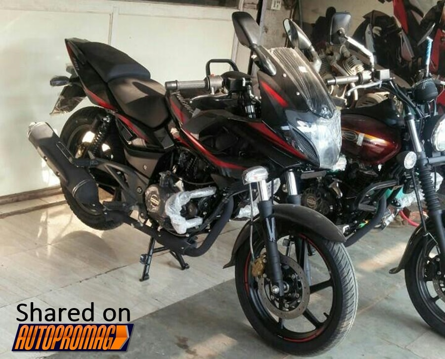 2017 Bajaj Pulsar 220F Spotted with new colour and ...