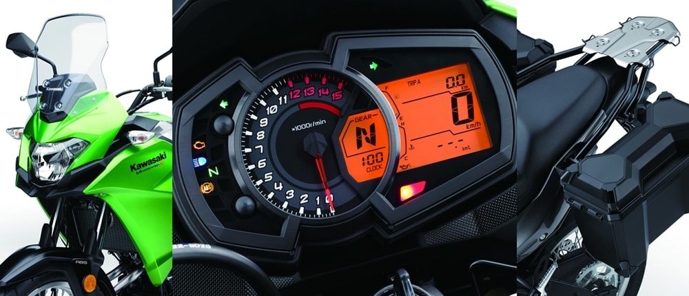 Kawasaki Versys X300 adventure tourer