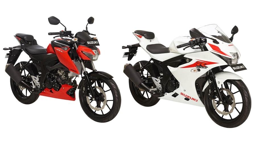 Suzuki GSX 150 bikes
