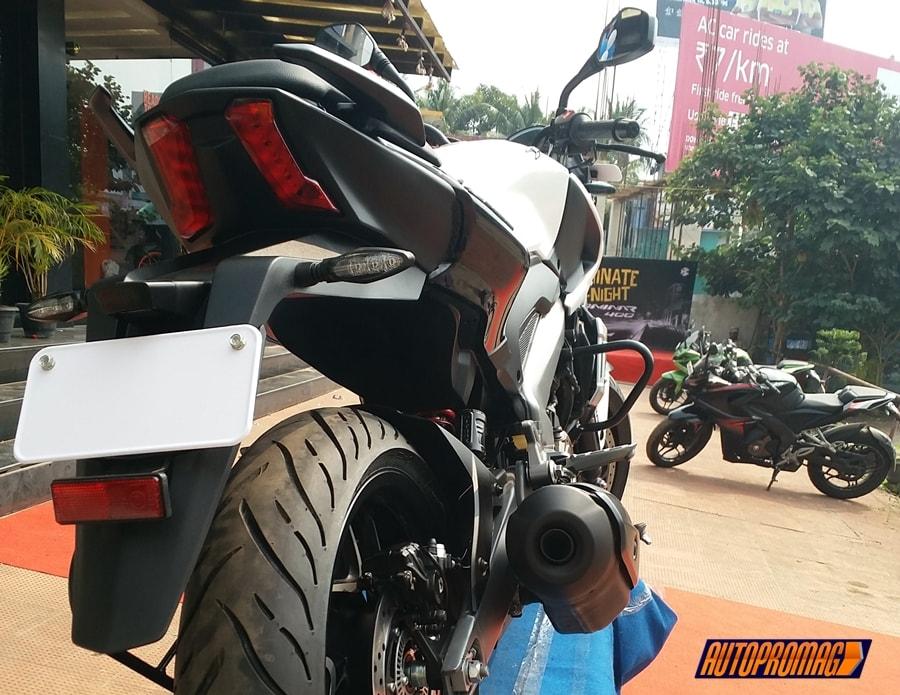 Bajaj Dominar 400 rear India