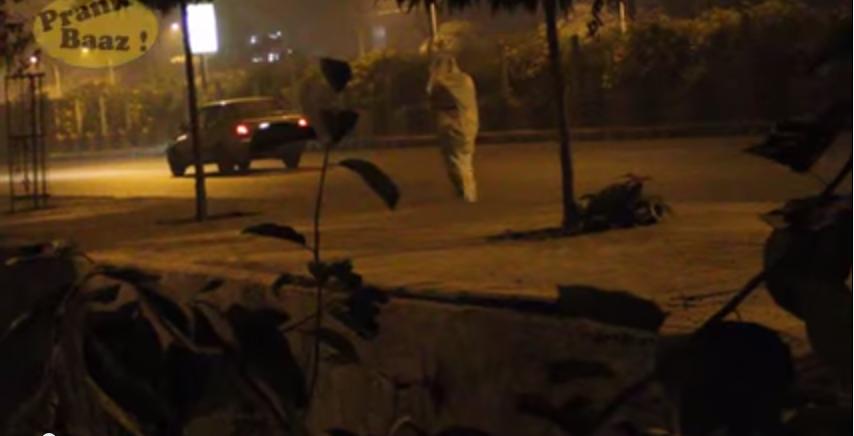 Delhi road ghost