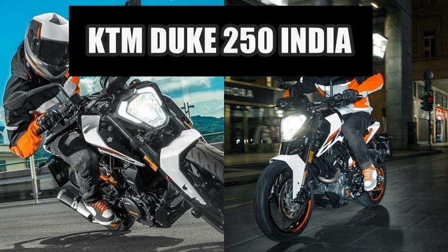 2017 KTM DUke 250